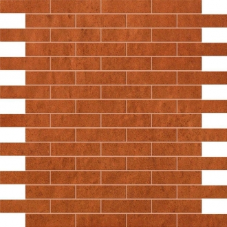 Creta Ocra Brick Mosaico