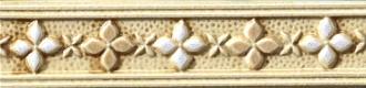 Cristalli Listello Rilievo Beige