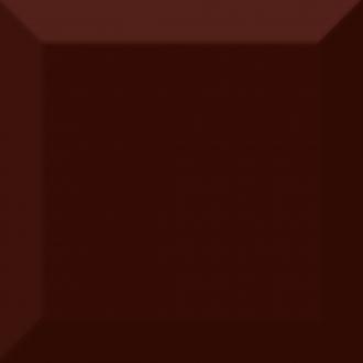 Cube Kitchen Marron Biselado Brillo