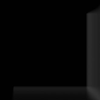 Cube Kitchen Negro Biselado Brillo