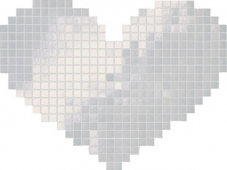 Cupido Bianco Mosaico