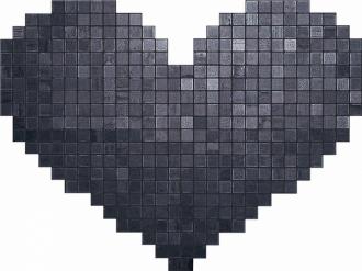 Cupido Nero Mosaico