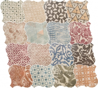 Curvytile Cotto Patchwork