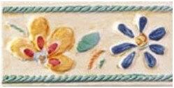 Dec. List. Fiore Giallo/Verde B