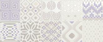 Decoro Preinciso Patchwork White/Lilac