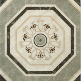 Декор Flaminia Rosone Ottagona Lappato