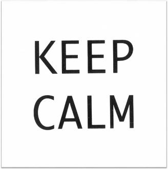 Декор Итон Keep calm AD/A168/1146T