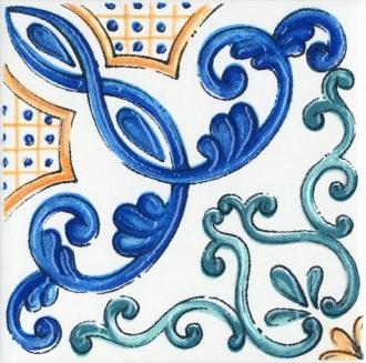 Декор Капри майолика STG\A454\5232