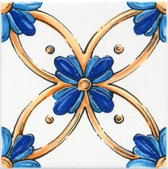 Декор Капри майолика STG\A455\5232