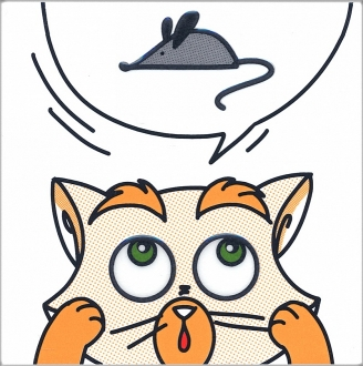 Декор Кошки-Мышки. Мышка NT\A132\5009
