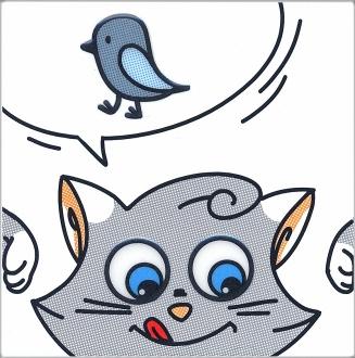 Декор Кошки-Мышки. Птичка NT\A134\5009