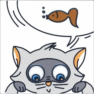 Декор Кошки-Мышки. Рыбка NT\A133\5009