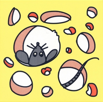 Декор Кошки-Мышки. Сыр и Мышка NT\A137\5109