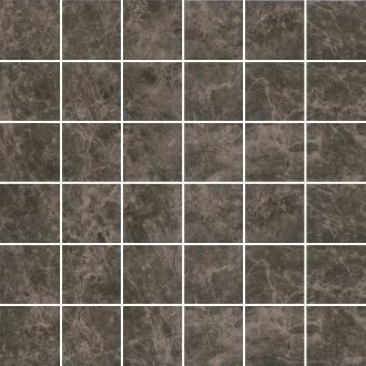 Декор Мерджеллина коричневый тёмный MM5249