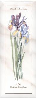 Декор Ноттингем Цветы грань NT\A84\15005