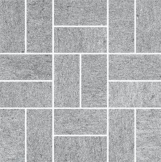 Декор Ньюкасл серый мозаичный SG176/001