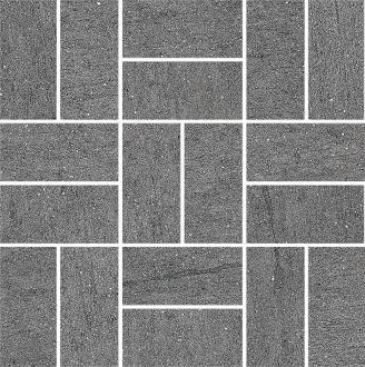 Декор Ньюкасл серый темный мозаичный SG176/002
