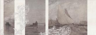 Декор Ньюпорт Корабли коричневый STG/A207/15010