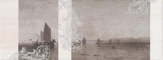 Декор Ньюпорт Корабли коричневый STG/A208/15010