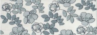 Декор Ньюпорт Цветы зеленый STG/B182/15016