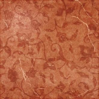 Декор Sicilia Rosso Inserto Foglie