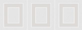 Декор Вилланелла Геометрия белый MLD\A68\15000