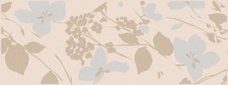 Декор Вилланелла Цветы беж MLD\B67\15084