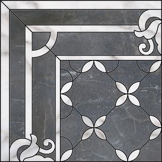 Декор Виндзор 1/4 розона ID42