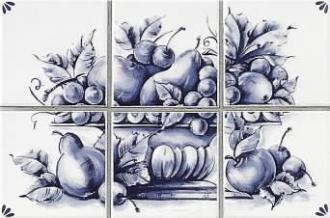 Delft Decoro CP/6 Fruits