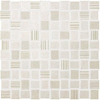 Desert Check White Mosaico