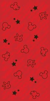 Disney Hands Friends R3060 Red