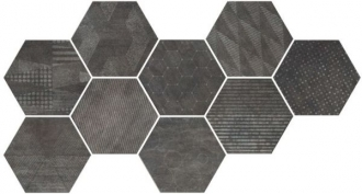 Docklands Hexagon Freeport Black