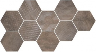 Docklands Hexagon Freeport Brown