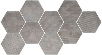 Docklands Hexagon Freeport Grey