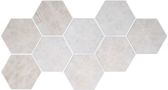 Docklands Hexagon Freeport White