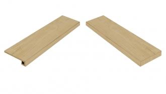 Element Wood Faggio Scalino Angolare Destro