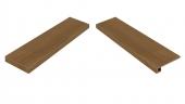 Element Wood Mogano Scalino Angolare Sinistro