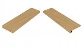 Element Wood Olmo Scalino Angolare Sinistro