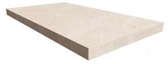 Elite Floor Pearl White Left