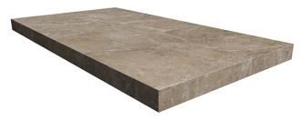 Elite Floor Silver Grey Left
