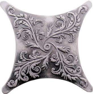 Estrella Plox Satined Black Silver