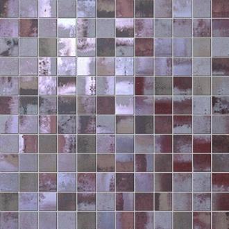 Evoque Acciaio Copper Mosaico