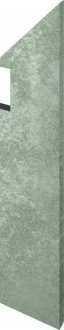 Evoque Grey Battiscopa Sag. Dx