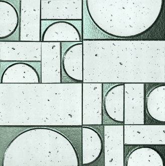 Evoque Sigillo Argento Inserto Mosaico