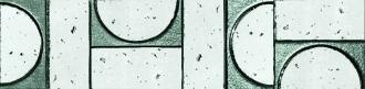 Evoque Sigillo Argento Listello Mosaico