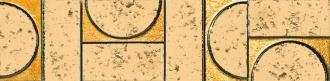 Evoque Sigillo Oro Listello Mosaico