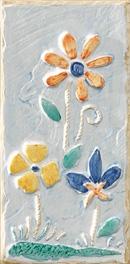 Form. Fiore Azzurro/Beige