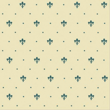 Плитка Petracers Giglio Verde su Crema 20x20 матовая