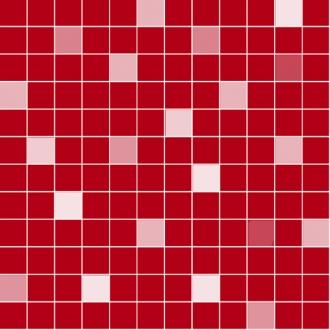 Gold Mosaico Rouge