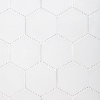 Hexatile Blanco Mate